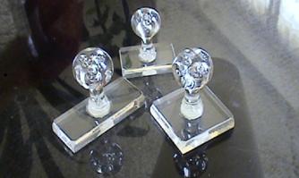 Tampon Cristal 23x60
